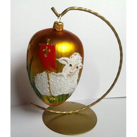 Jajko na stojaku